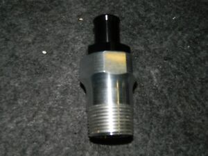 Meziere Custom Electric Water Pump Fitting 1 Npt To 3 4 Heater Hose Ships Free