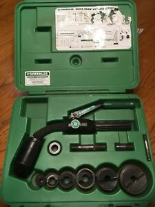 Greenlee 7706sb Quick Draw Flex Set Hydraulic Excellent Condition Fast Shipping