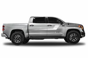 Vinyl Decal Side Stripe Wrap For Toyota Tundra Crewmax Pickup 14 17 Matte White