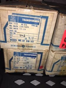Nos Lot Of 9 Ge General Electric Dry Type Transformer 9t51b107