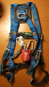 Miller Turbo Lite Safety Harness Used Preowned