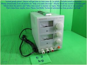 Kenwood Pr18 3a Regulated Dc Power Supply As Photo Sn 3609