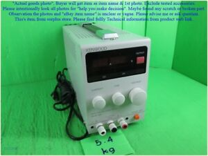 Kenwood Pa10 3a Regulated Dc Power Supply As Photo Sn 3684