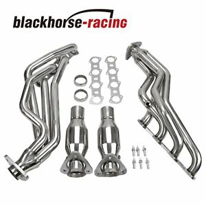 For 99 04 F150 4wd rwd 5 4 Modular V8 Stainless Steel Header manifold Exhaust