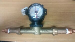 Master Meter Fam 5 8 X 3 4 Direct Read Water Meter New With Adapter