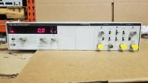 Hp 5328a Universal Counter Options 010 010 030 041 Powers Up