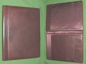 8 5x11 Note Pad Brown Leather Hm Planner Binder Franklin Covey Monarch 9488