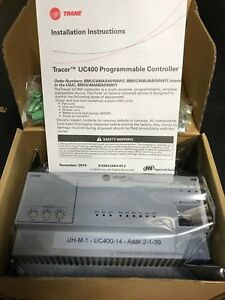 New Trane Tracer Uc400 Bacnet Programmable Controller