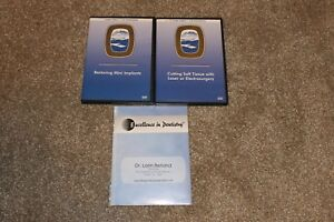 Gordon J Christensen Dental Dvd Restoring Mini Implants Laser Dentures Rehab