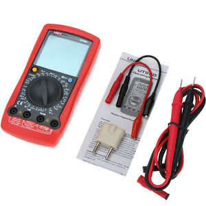 Ut58d Lcd Digital Multimeter Ac dc Volt Amp Ohm Capacitance Inductance Tester