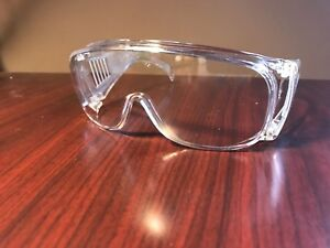 45 Pairs New Safety Glasses Z87 Visitor Walk Through On Face Or Over Glasses