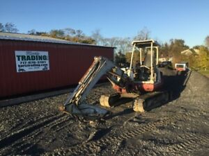 2002 Takeuchi Tb145 Hydraulic Mini Excavator Needs Repair