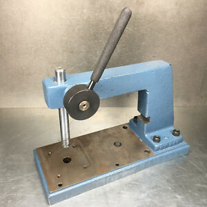 Janesville Dt 500 Precision Deep Throat Press 1 4 ton Manual Assembly