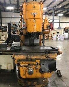 Cincinnati Vertical Milling Machine
