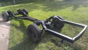 1958 Chevy Impala Frame 58 Chassis