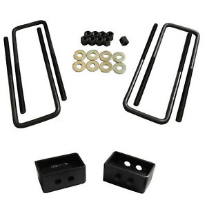 For Toyota Tundra Tacoma Blocks 2wd 4wd 2 Rear Lift Leveling Kit Solid Billet