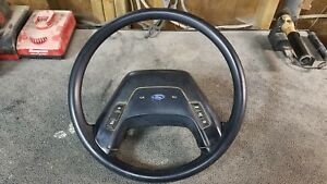 Ford Truck F150 F250 F350 Bronco Steering Wheel 1987 91 Pickup