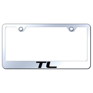 License Plate Frame With Acura Tl Laser Etched On Mirrored officially Licensed