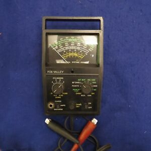 Vintage Fox Valley 966 Electrical Systems Analyzer Tester Great Cond See Pics