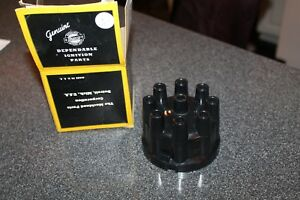 Vtg Genuine Manco Ignition Distributor Cap Detroit Mich U s a Machined Parts