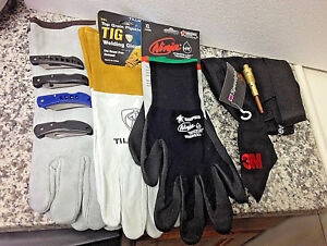 Welding Glove s 1 pair Of Tig 1 pair Of Mig 1 all purpose 1 sweat Cap New