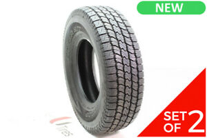 Set Of 2 New Lt 265 75r16 Dunlop Rover H t 123 120r 14 32