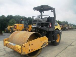 2011 Volvo Ingersoll Rand Sd70d 66 Smooth Drum Roller Compactor Only 1052 Hrs