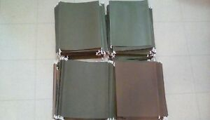 Hanging File Folders Lot Of 200 Standard Size Business Quality