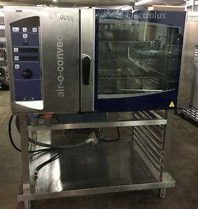Electrolux Air o convect Electric Combi Combination Convection Oven W Stand