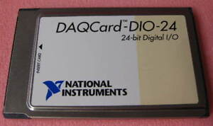 Ni Daqcard dio 24 24 bit Digital I o National Instruments Pcmcia 1 Each