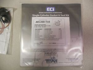 Set Of 6 aircraft Single Cylinder Gasket Seal Kits Ac200 t1s Free Shipping