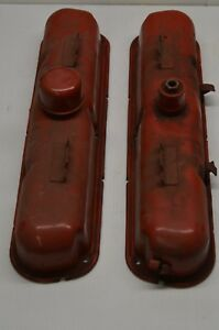 Vintage Dodge V8 Valve Covers Hot Rod Rat Rod Nos