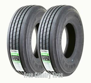2 Freedom Hauler Dutymax St235 85r16 All Steel Heavy Duty Rv Trailer Tires 14pr