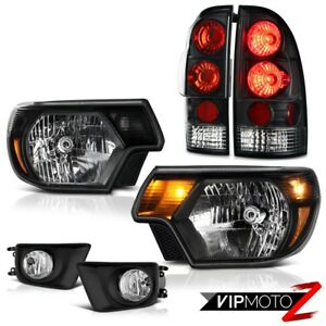 2012 2013 2014 2015 Toyota Tacoma X runner Fog Lamps Headlamps Taillights Euro