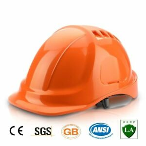 Safety Helmet Abs Construction Head Protection Breathable Hard Hat Work Cap