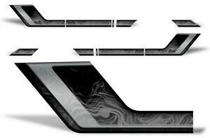 Ford F150 Rally Race Stripes Side Graphic Kit Truck Bed Decal Set 09 14 Smoke