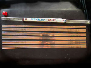 Silvaloy Excell 15 015x1 8 28 Sticks Made In Usa R53 412