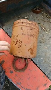 Allis Chalmers Seed Can Bin Planter
