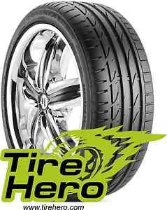 235 35r19 Bridgestone Potenza S 04 Pole Position Blk 91y Xl New Set Of 2