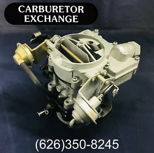 1972 1974 Buick Remanufactured Rochester 2 Barrel Carburetor