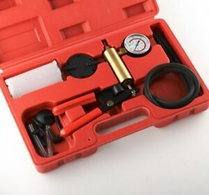 New 2n1 Brake Bleeder Bleeding Vacuum Pump Tester Kit Professional Automotive