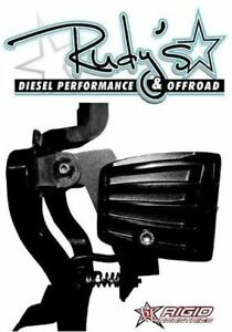 Rigid Industries Ford Super Duty Dually Fog Light Kit With Mount 1999 2015