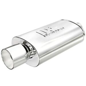 Magnaflow 14832 High flow Performance Muffler W Tip 5x8x14 Oval 2 25 Inlet