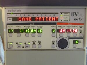 Viasys Ltv 1150 Ventilator W new Battery And Just Inspected