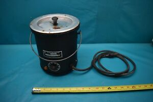Used Waage Melting Pot Wp4a 19 1 600 Watts Phase 1 115ac Volts