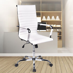 Computer Gaming Chair Office Adjustable Recliner Swivel Desk Seat High Back Task