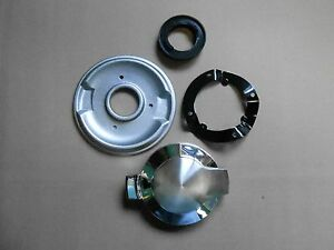 Mopar 66 67 Gtx Satellite Belvedere Gas Fuel Cap And Trim Ring Bezel 1967 New