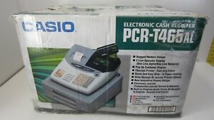 Casio Pcr t465 Programmable Electronic Cash Register d