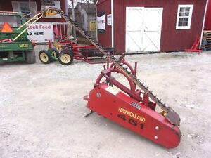 Late Model Nh 451 Sickle Mower 7 Ft 3 Point We Ship Real Cheap And Real Fast