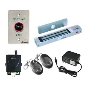 Visionis One Door Access Control Electromagnetic Lock With Wireless Receiver